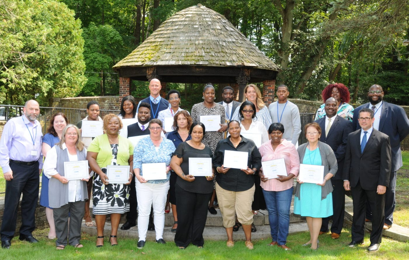 Exceptional staff receive DSP of the Year Award.