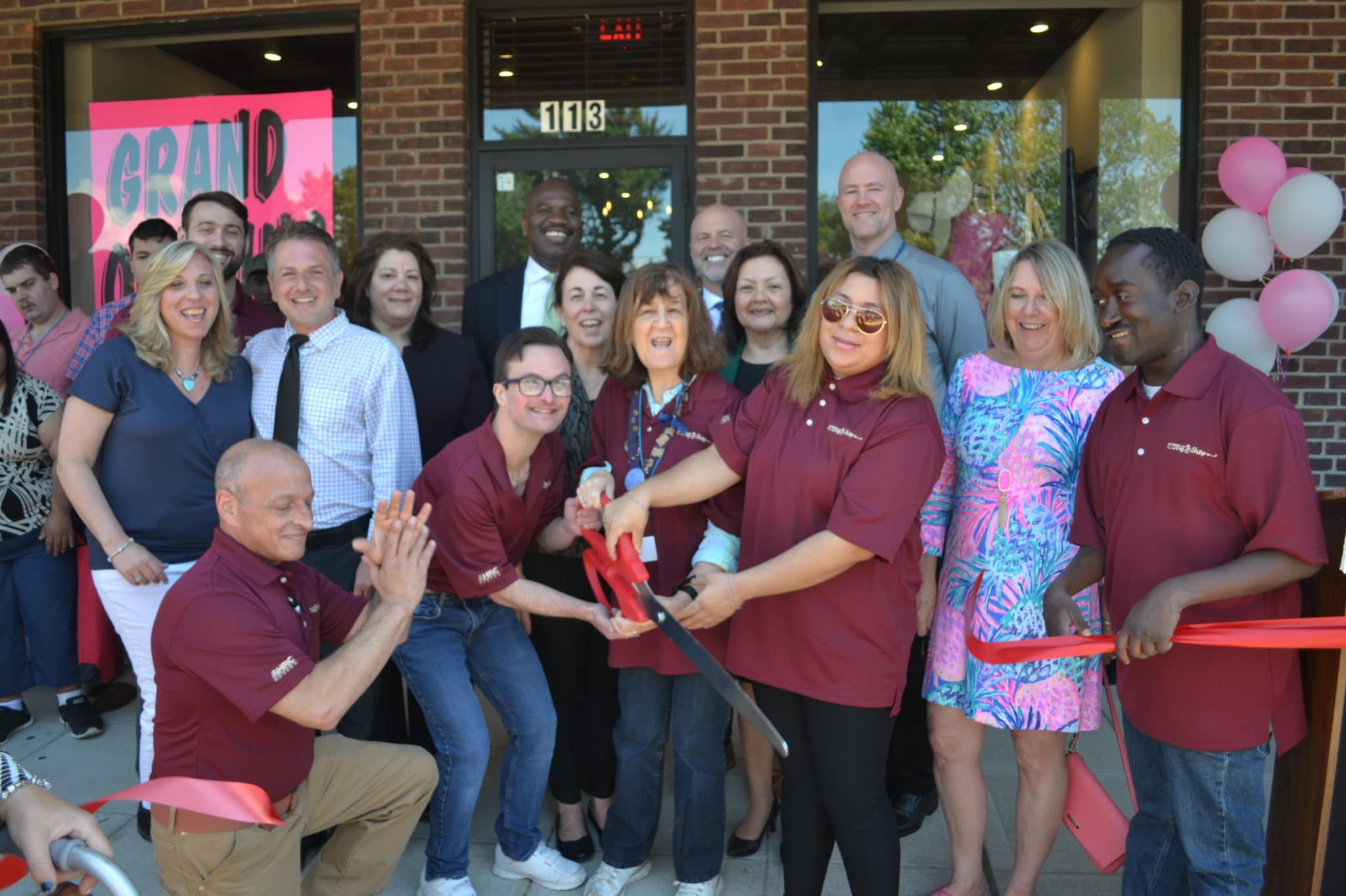 AHRC Nassau One Stop Gift Shop opens with a ribbon cutting ceremony in Hicksville.