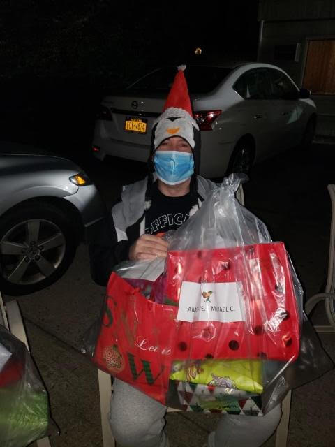 Amos Avenue Resident enjoys his gifts