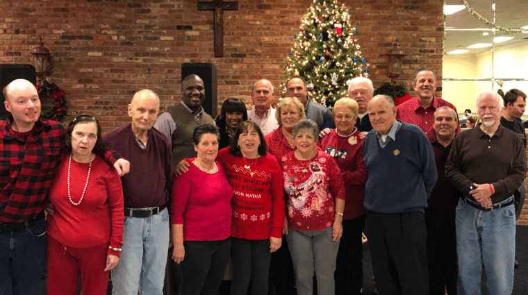 Knights of Columbus celebrate the holiday season with AHRC Nassau