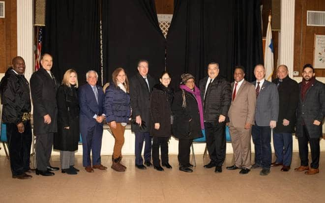 AHRC and community leaders come together to celebrate Martin Luther King Jr. Day.