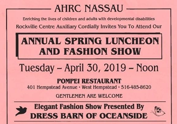 Rockville Centre Auxiliary Spring Luncheon and Fashion Show @ Pompei Restaurant | West Hempstead | New York | United States