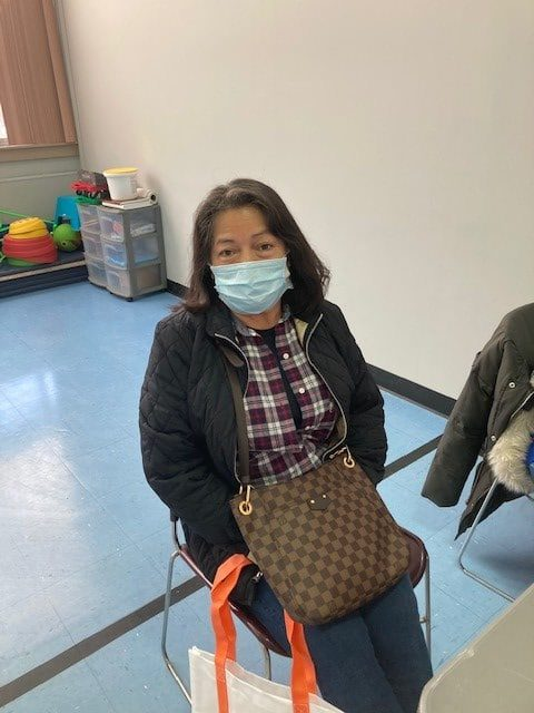 """Marta Estrada, a Team Leader for Total Facilities Management, wants to """"protect herself from this virus."""""""