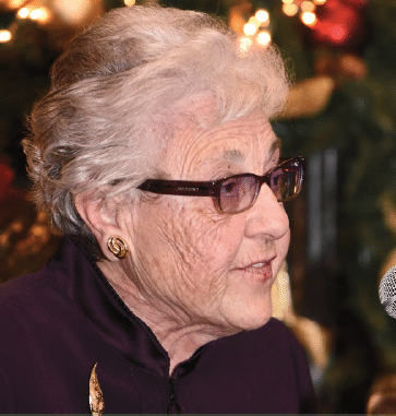 AHRC Nassau's longtime community member Angela Laterza speaks on Presidents Council