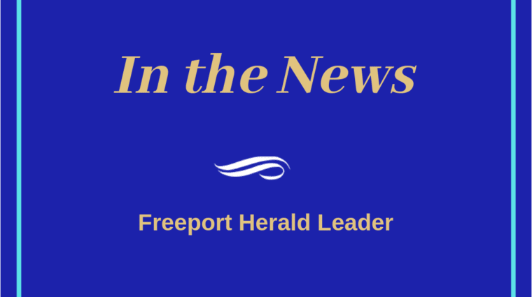 In the News: Freeport Herald LEader
