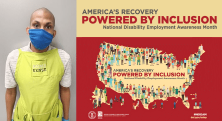 Jeffrey Jean-Pierre and America's Recovery Powered by Inclusion: National Disability Employment Awareness Month