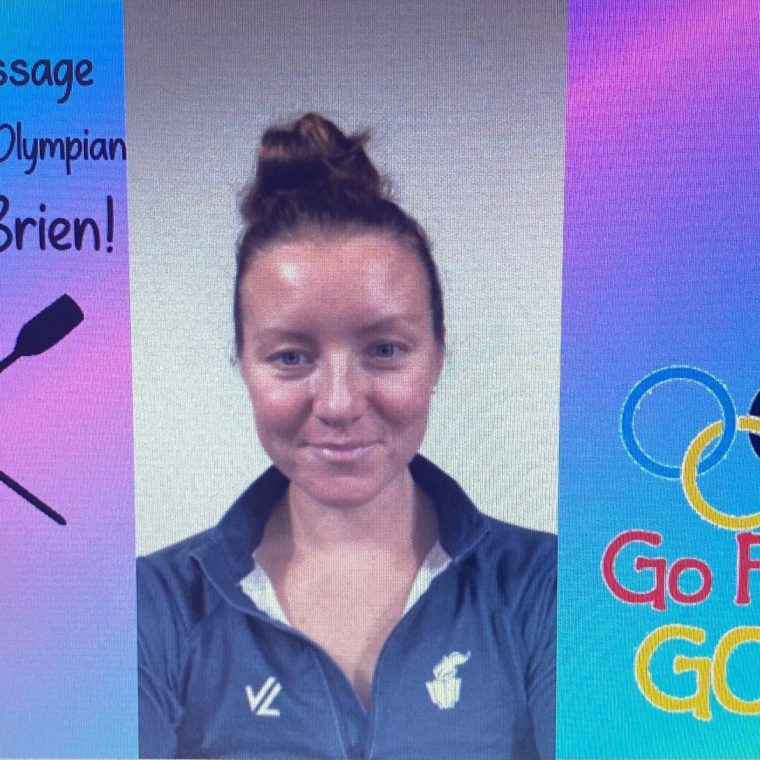 A Special Message From Tokyo 2021 Olympian Kristine O'Brien! Go for the Gold!