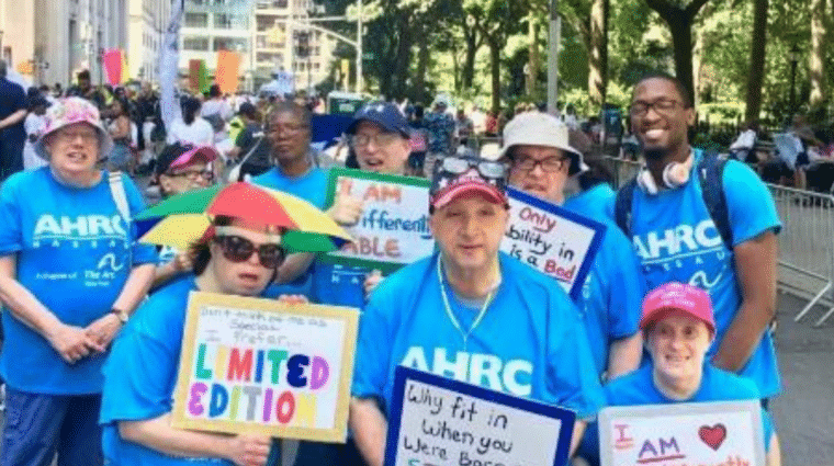 Self-Advocates at Disability Pride Parade in 2019
