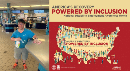 Robert Callarii and America's Recovery Powered by Inclusion: National Disability Employment Awareness Month - America's Recovery Powered by Inclusion