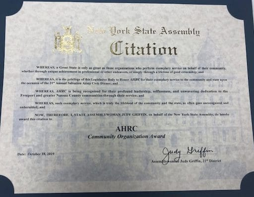 Citation for AHRC