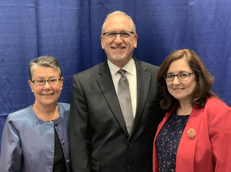 Saundra Gumerove is joined by The Arc New York's Immediate Past President, Laura Kennedy, and Executive Director, Mark van Voorst.