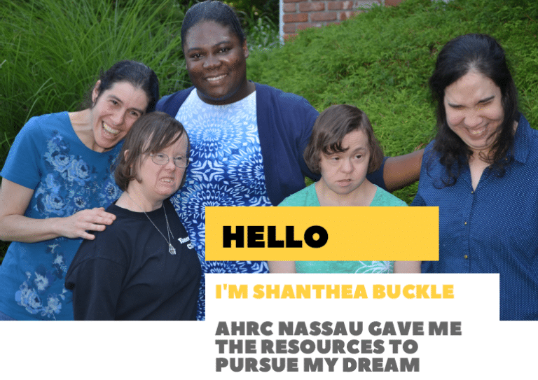 Shanthea Buckle found the professional resources she needed to pursue her career goals